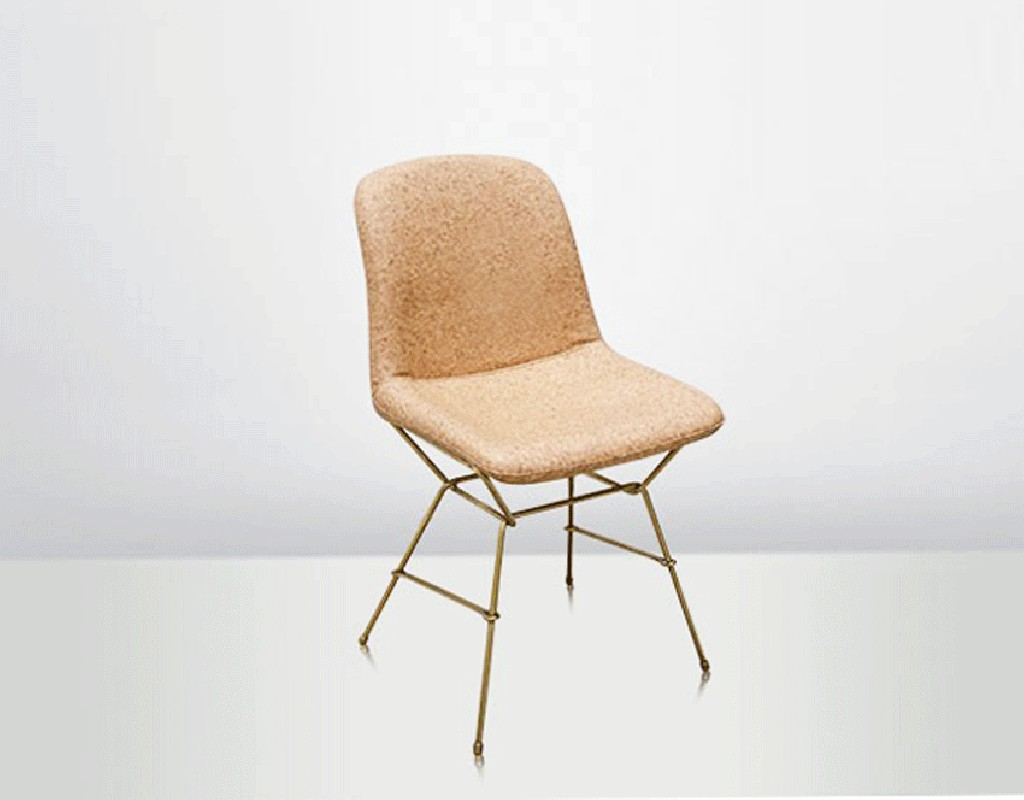 dining chair covers cork directors 30 inch the eva made of genuine leather and stainless