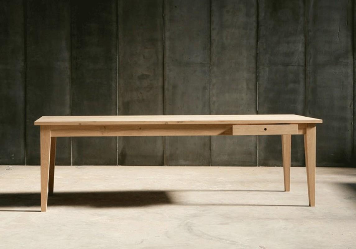 table de ferme table en chne chne bois table de salle  manger