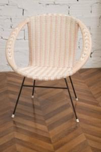 1950 Vintage round armchairs, antique armchairs, retro deco,