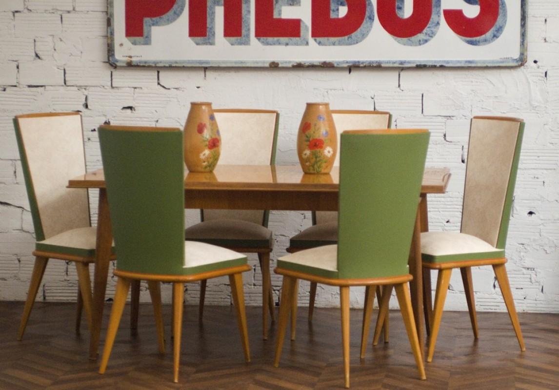 Ensemble Table Chaise Cuisine