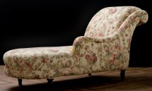 Antique Long Chair Napoleon 3 Iii Ancient