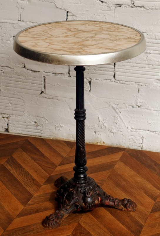 table guridon bistrot werzalit table bistrot annes 50 1950 vintage ancien rtro