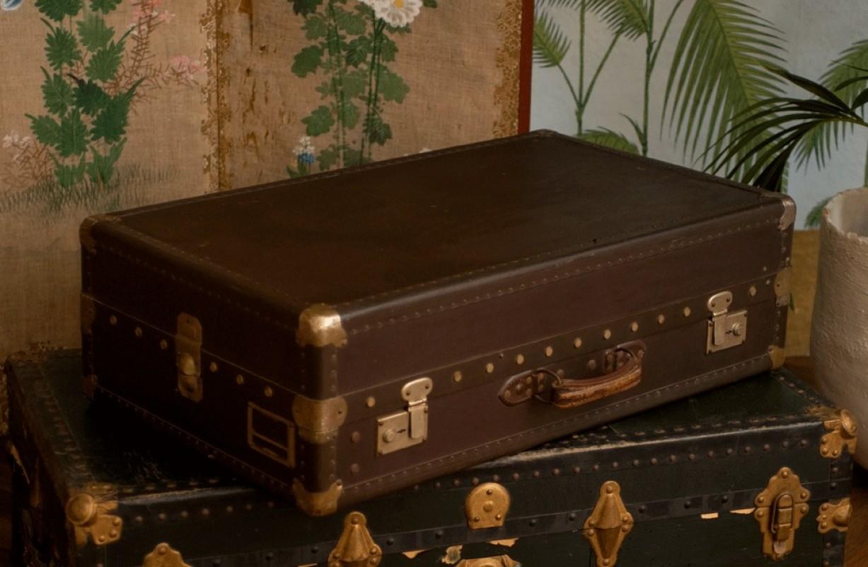 malle ancienne valise vintage valise ancienne en carton valise de voyage rtro ancienne 1950
