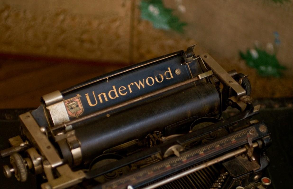 machine  crire ancienne Underwood 1918 n1098729