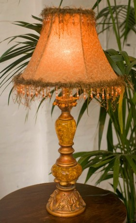 baroque lamp 1900 style brothel original