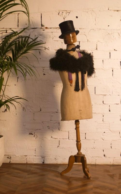 mannequin couture homme ancien vintage rtro dbut XXeme