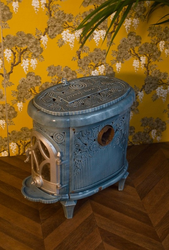 Art Dco Wood Stove Le Non Pareil  SOLD  ARTESLONGA