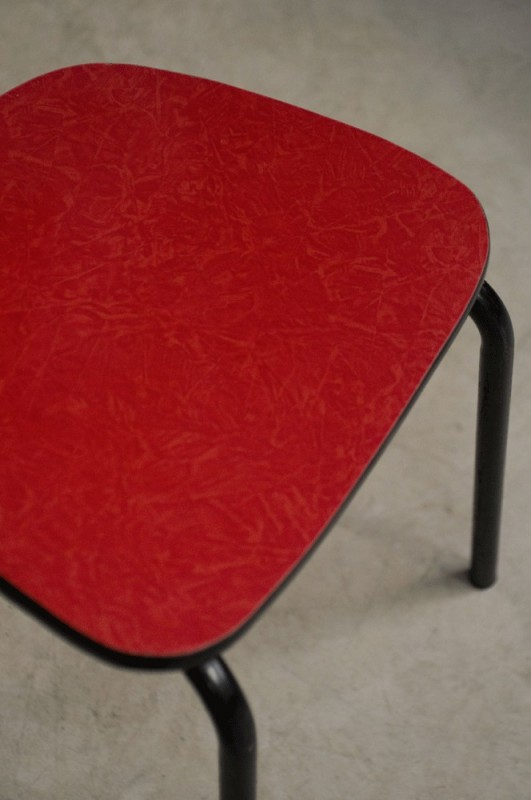 Simple Chaises Bistrot Rouge Annes With Chaise Bistrot Rouge