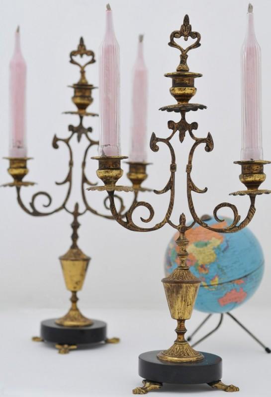 Chandeliers Napolon III objets anciens objets vintage accessoire de dcoration