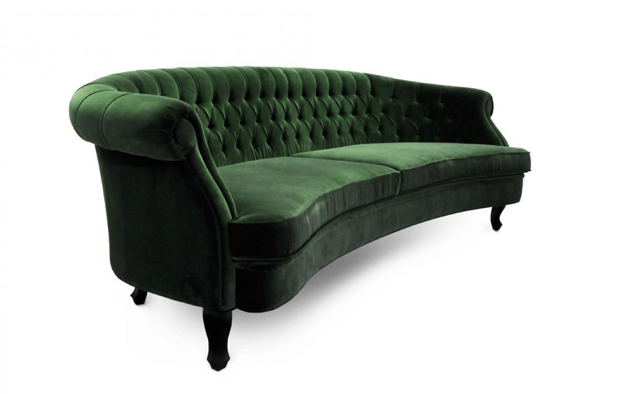 tartan chesterfield sofa leather and loveseat slipcovers grand canapé moderne, velours, velours ...