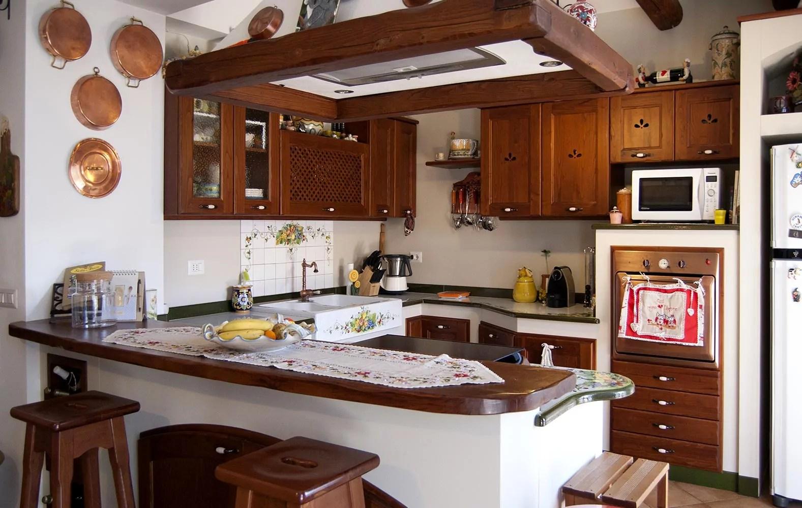 Cucine Moderne ecologiche in muratura smontabile Modello