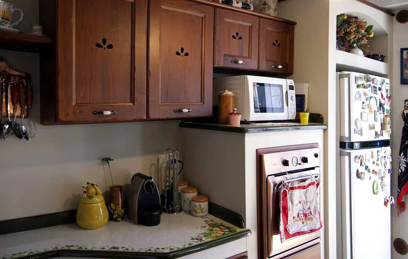 Cucine Moderne ecologiche in muratura smontabile Modello Giarre