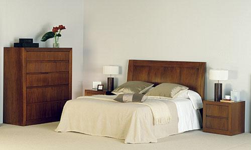 Dormitorios con personalidad  Dormitorio Nogal T718