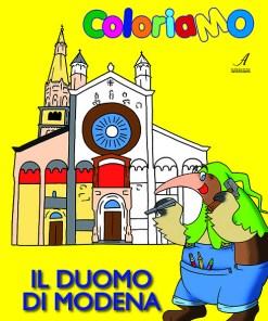 Il Duomo di Modena, Album da colorare, Coloriamo, Edizioni Artestampa