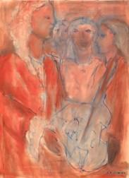 003 - Vivaldi et ses orphelines - 81 x 60 cm - (réservé)