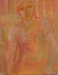 H21 - Jeune Gondolier 2 (61 x 50 cm)