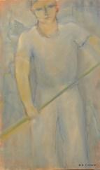 H43 - Grand Gondolier bleu (99 x 59 cm)