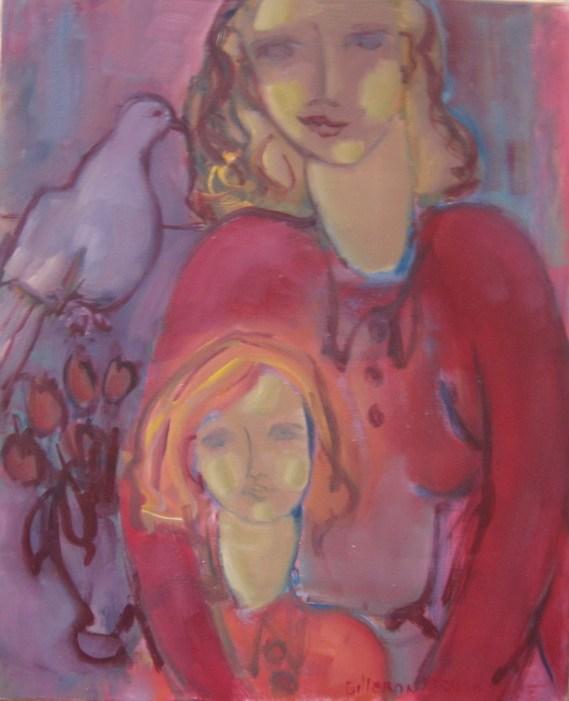 DAD - La femme et l'enfant 60 x 50 cm02