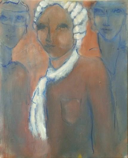 H68 (réservé) La perruque blanche (45x33cm)