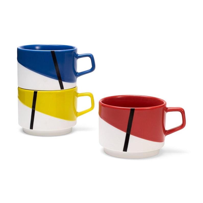 Mug Set Stacking De Stijl Arteum