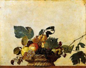 fruit basket - caravaggio
