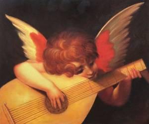 musical angel - rosso fiorentino