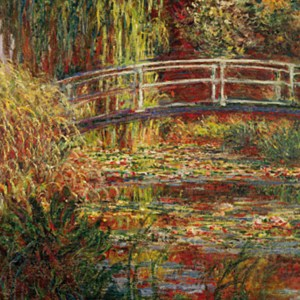 pond with waterlilies - monet