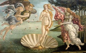 the birth of venus - botticelli