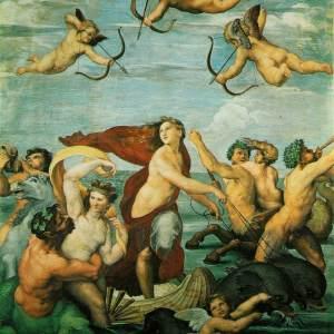 triumph of galatea - raffaello