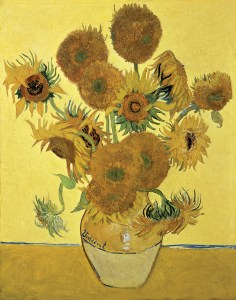 vase with fifteen sunflowers - van gogh