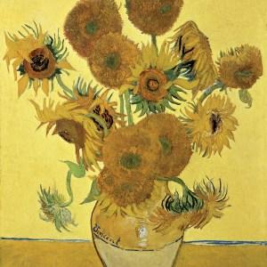 vase with fifteen sunflowers - van gogh