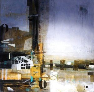 Artist Sally Hirst, 'Past, Present, Imperfections', Mixed Media, Norwich 2017