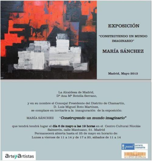 Exposición María Sánchez