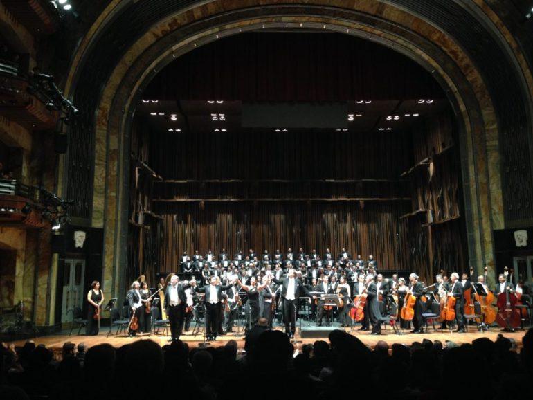 Gala operística, Palacio de Bellas Artes