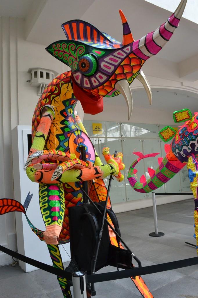 Alebrijes del Museo de Arte Popular