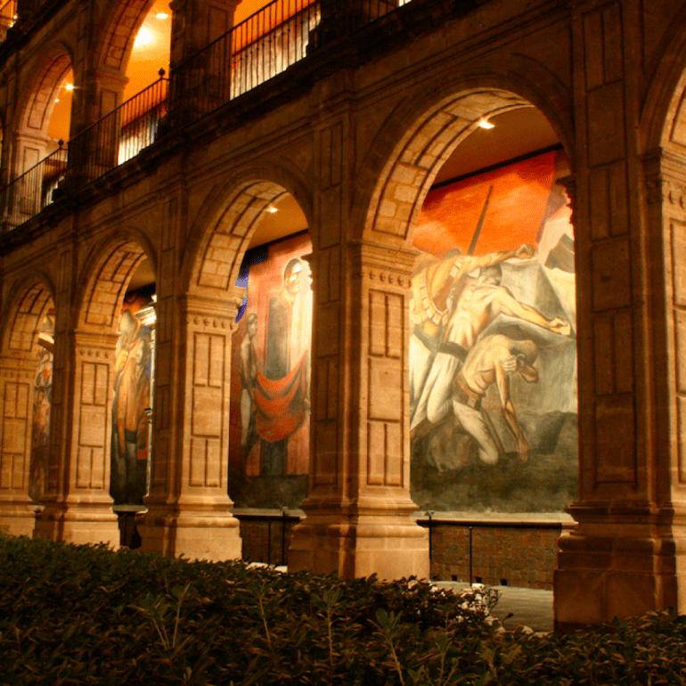 Murales en el Antiguo Colegio de San Ildefonso