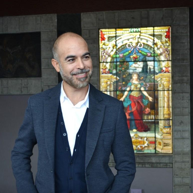 Javier Marín en San Ildefonso
