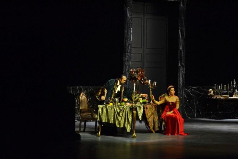Tosca en el Palacio de Bellas Artes