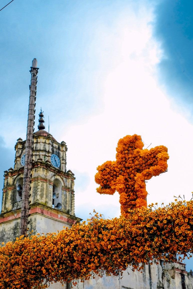 Día de Muertos en Ocotepec, Morelos. Foto: Jaime Ávila