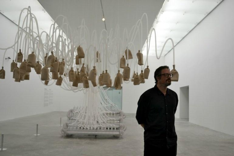 Rafael Lozano-Hemmer en el MUAC