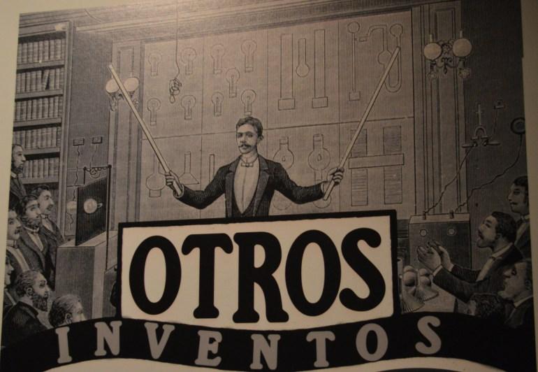 Nikola Tesla en el Cenart