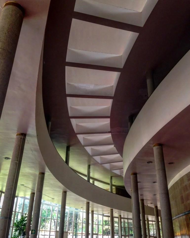 El Conservatorio Nacional de Música es obra del arquitecto Mario Pani.