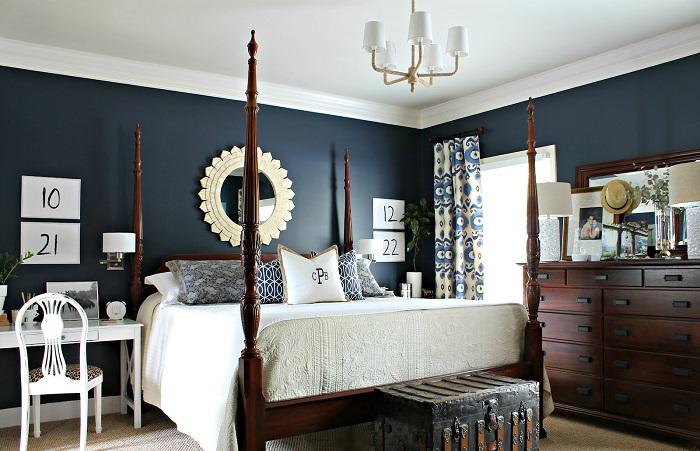 blue colour sofa set how to dry clean sofas at home navy para decorar a casa toda com muito charme