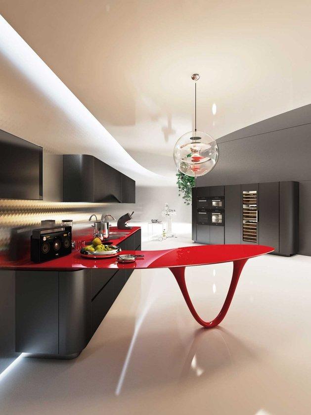 Cozinha Ferrari  Das pistas de corrida para a sua casa
