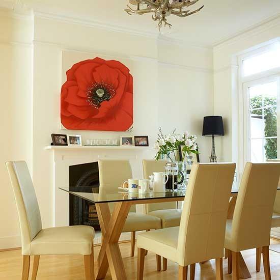 Sala de jantar moderna  Boas ideias para a decorao