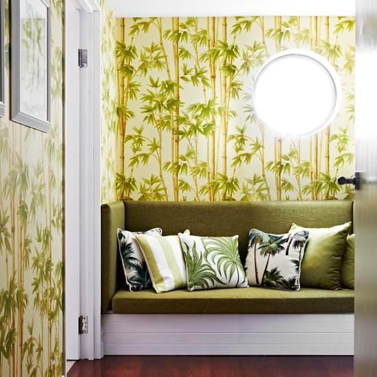Cores tropicais e estampas para decorar a casa