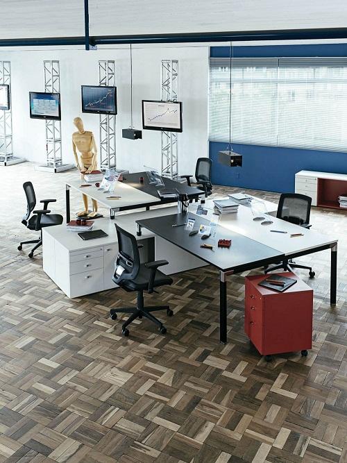 Office moderno  Ideias ousadas e modernas para decorar