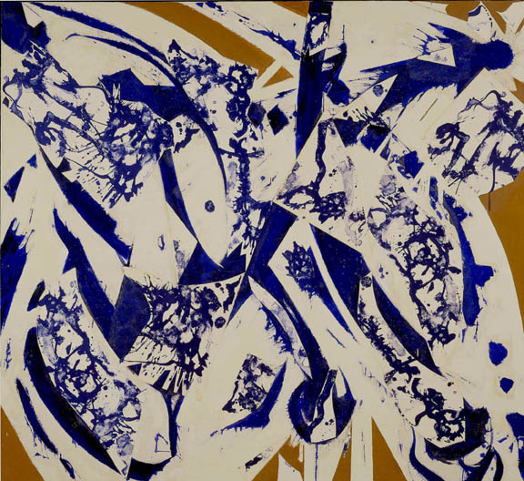 To The North by Lee Krasner Exiled Stardust