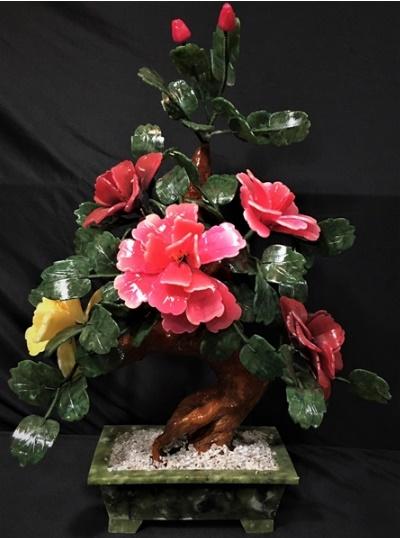 Jade Flower Bonsai Tree 20A_2