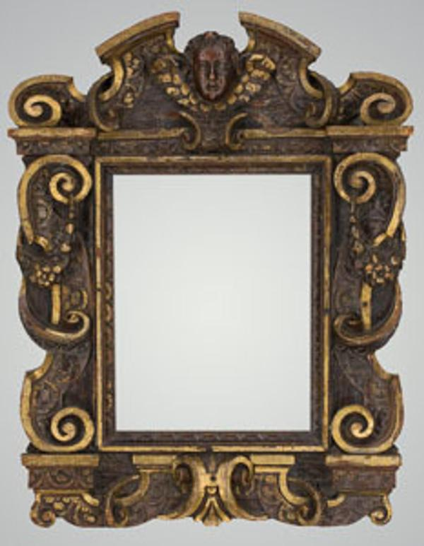 Antique Italian Carved Frame